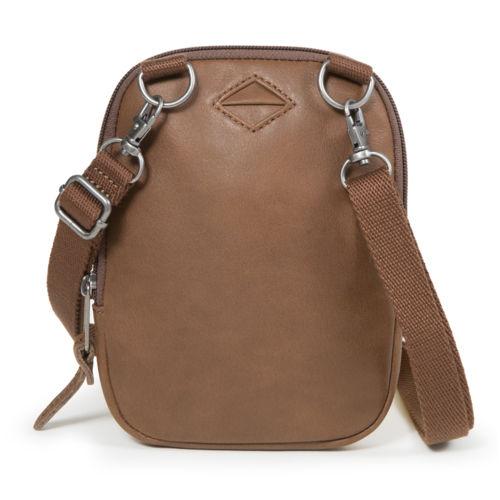 Eastpak BUDDY/LEATHER - Umhängetasche - brownie leather