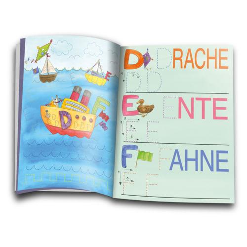 Scout Wischheft Buchstaben |