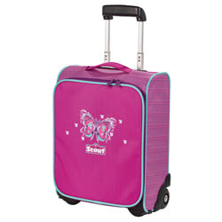 Scout Kindertrolley II Purple Butterfly