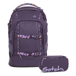 b3e4b21db1476 Satch Schulrucksack Set 2-teilig Mysterious Rush